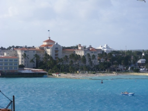 A view from our cruise ship,  December, 2009